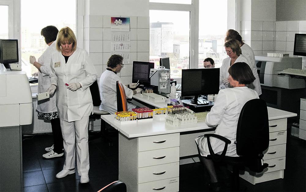 Kauno miesto poliklinika Laboratorija